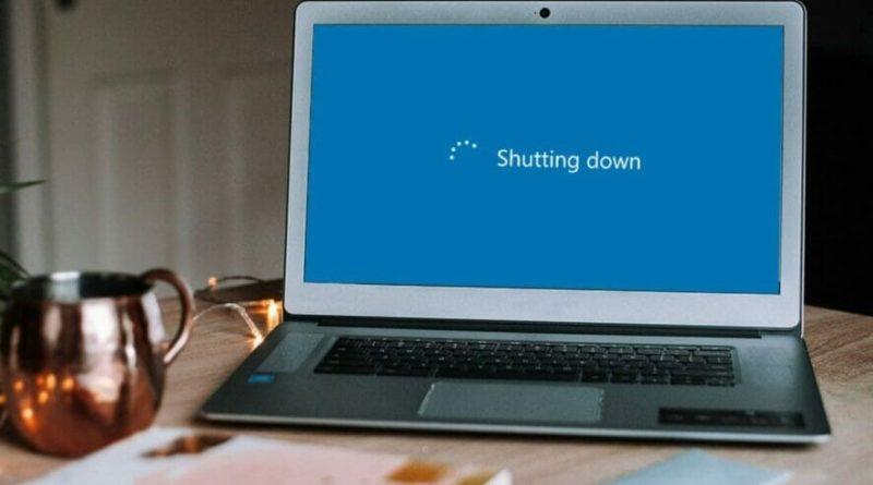 خاموش شدن ناگهانی لپ تاپ