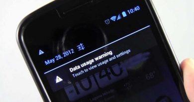 حل دائمی مشکل Data usage warning