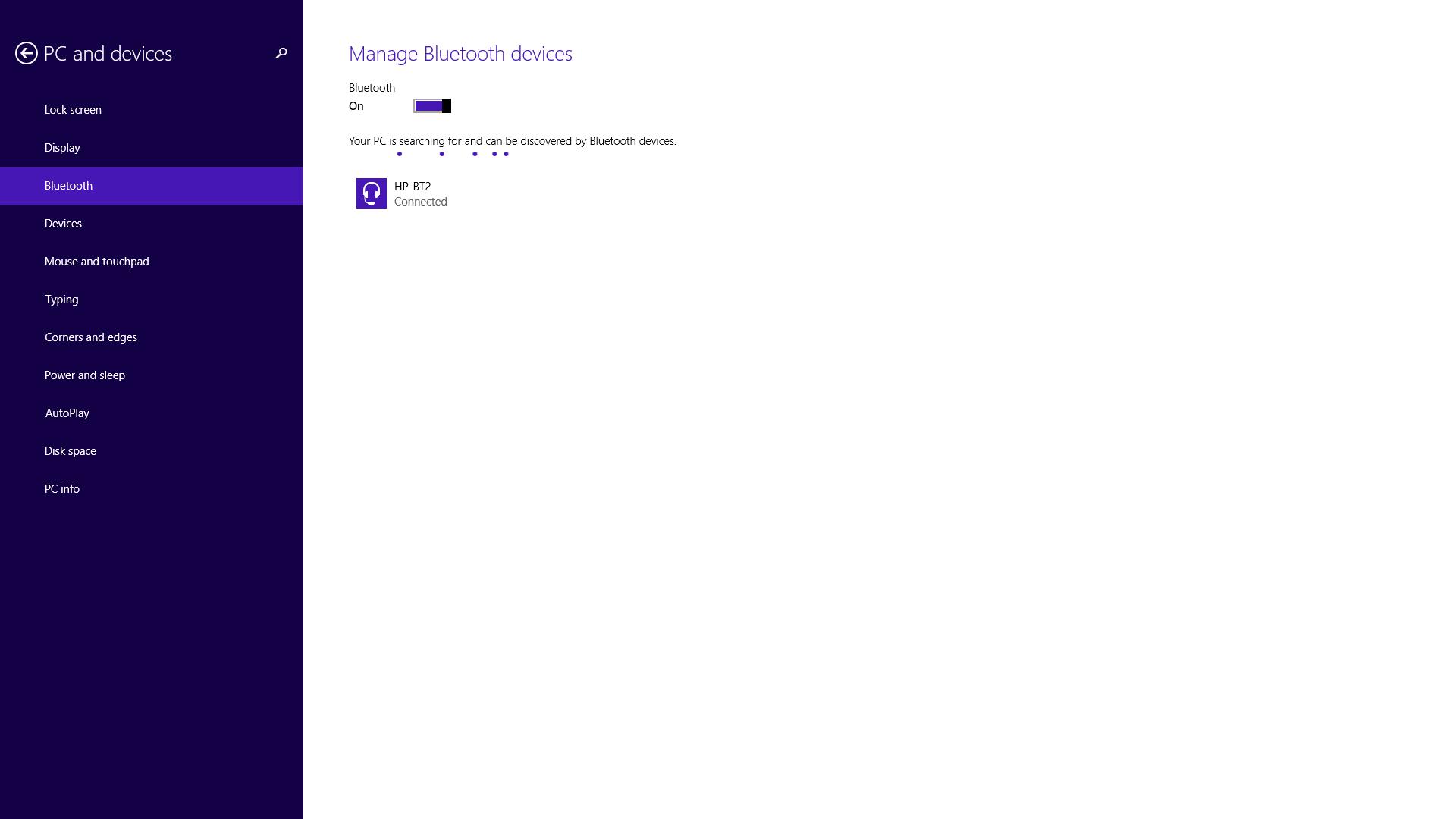 آموزش روشن کردن بلوتوث در ویندوز