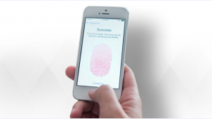 iphone finger print