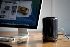 Mac Pro. Photo: Josh Valcarcel/WIRED