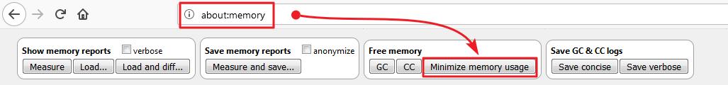 minimize memory.