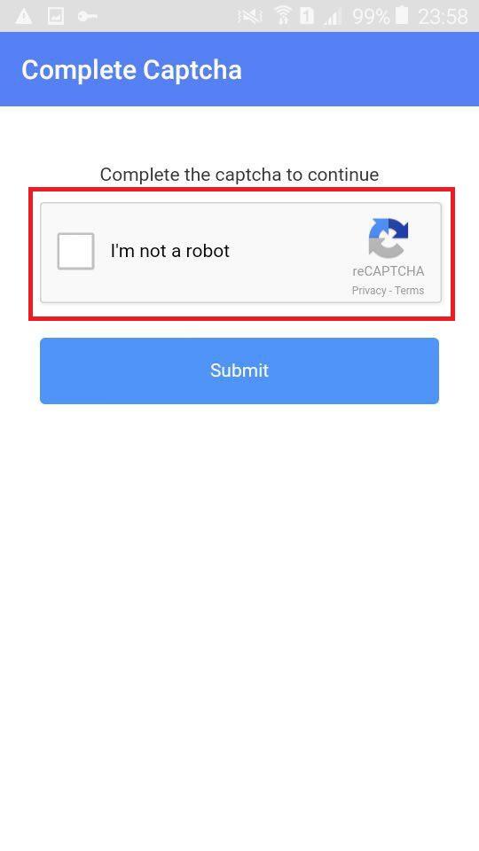 not robot.