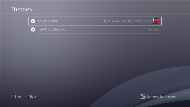 ps4-menu-select theme