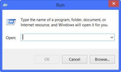 باز کردن Run