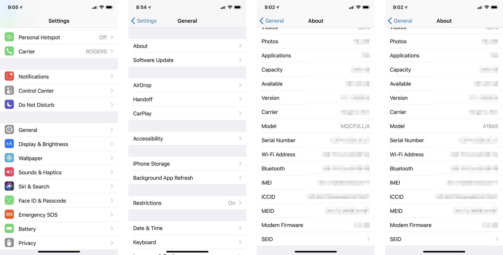 settings-screens-model-number.