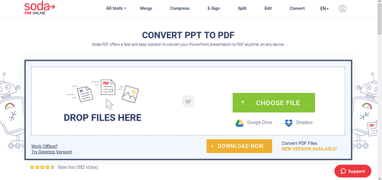 تبدیل PowerPoint به pdf
